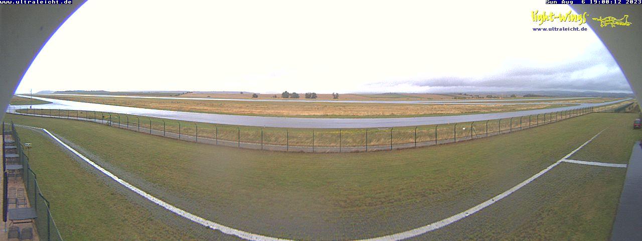 Kassel-Calden Airport Panorama
