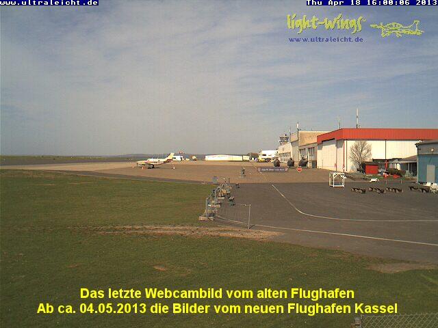 Webcambild Kassel-Calden