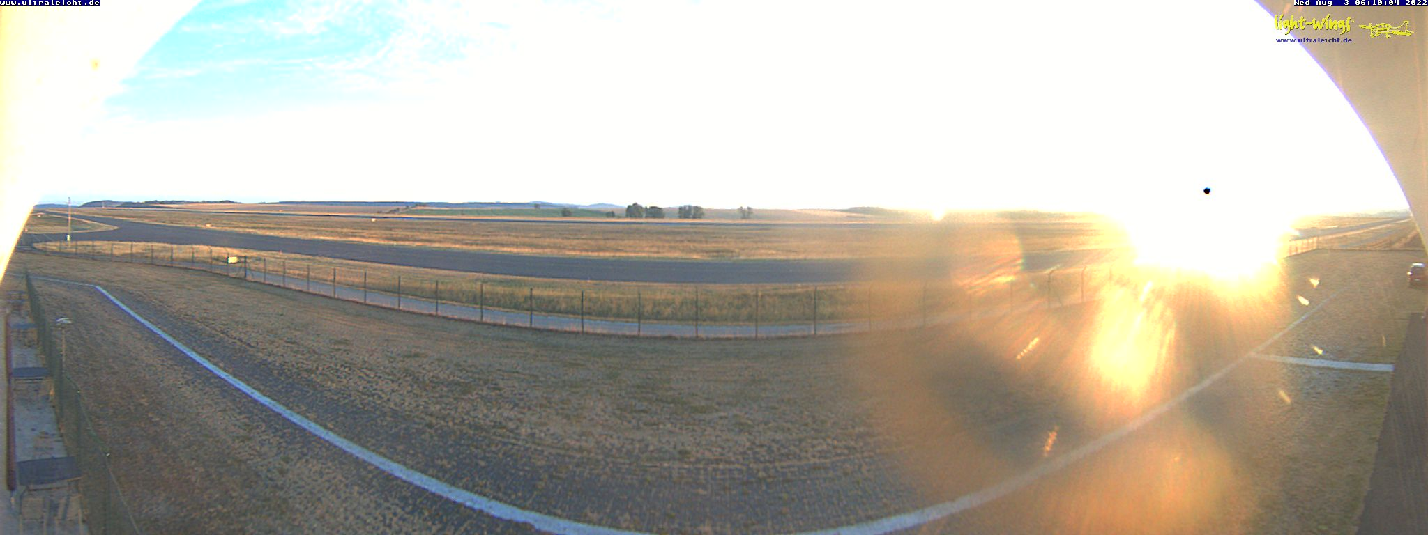 Kassel Airport [KSF] and Flight School, Panorama