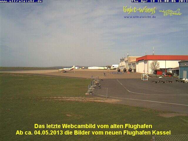 Kassel-Calden Airport (Northeast)